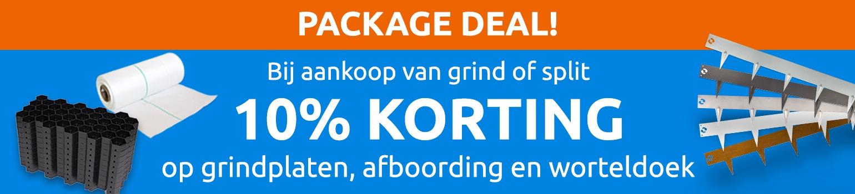 10% korting package deal