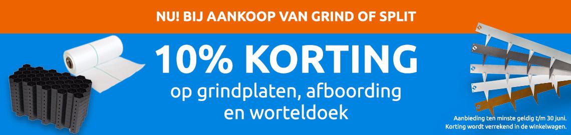 10% combikorting
