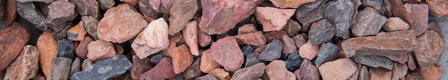 Rode mijnsteen