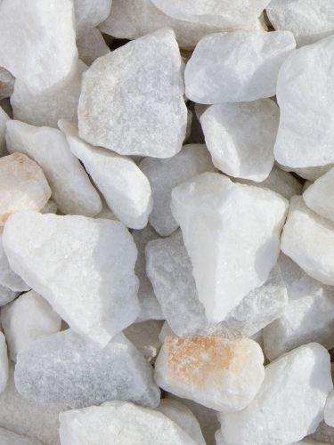 Crystal white split 25 - 40 mm (nat)