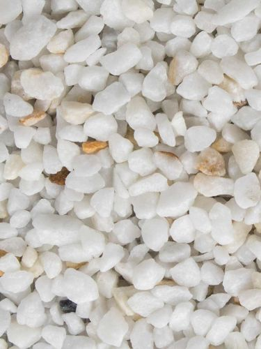 Crystal white split 9 - 12mm (nat)
