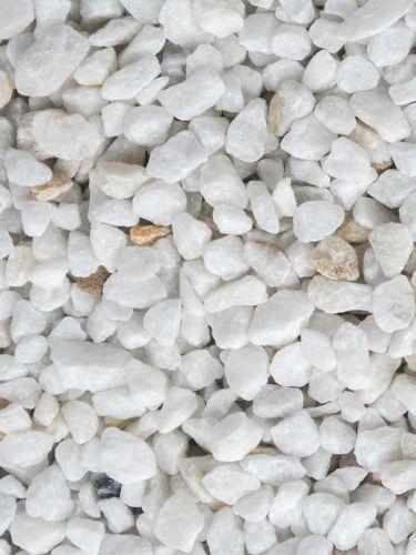 Crystal white split 9 - 12 mm