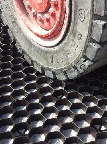 EuroGravel PRO grindstabilisatie / grindmatten zwart - geschikt voor zware belasting