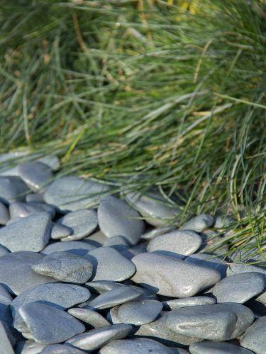 Flat Pebbles groen 30 - 60 aangelegd
