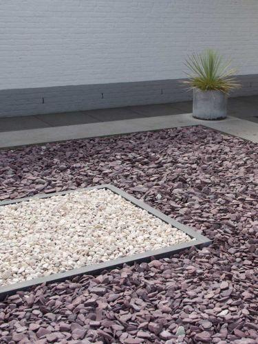 flat pebbles paars 30/60 tuin