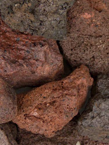 lava brokken 40 - 80mm (4 - 8cm) nat