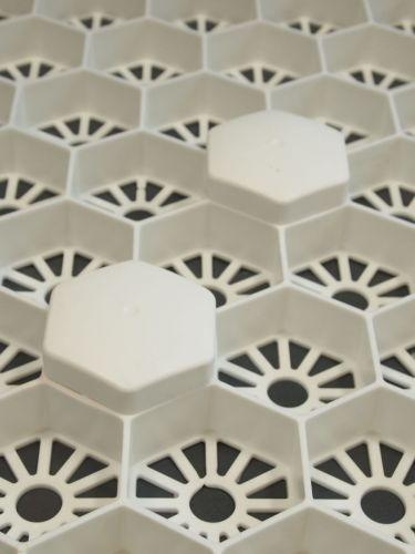 markeerdop wit in wit
