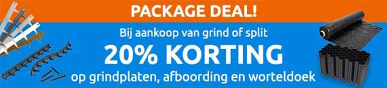 20% korting package deal